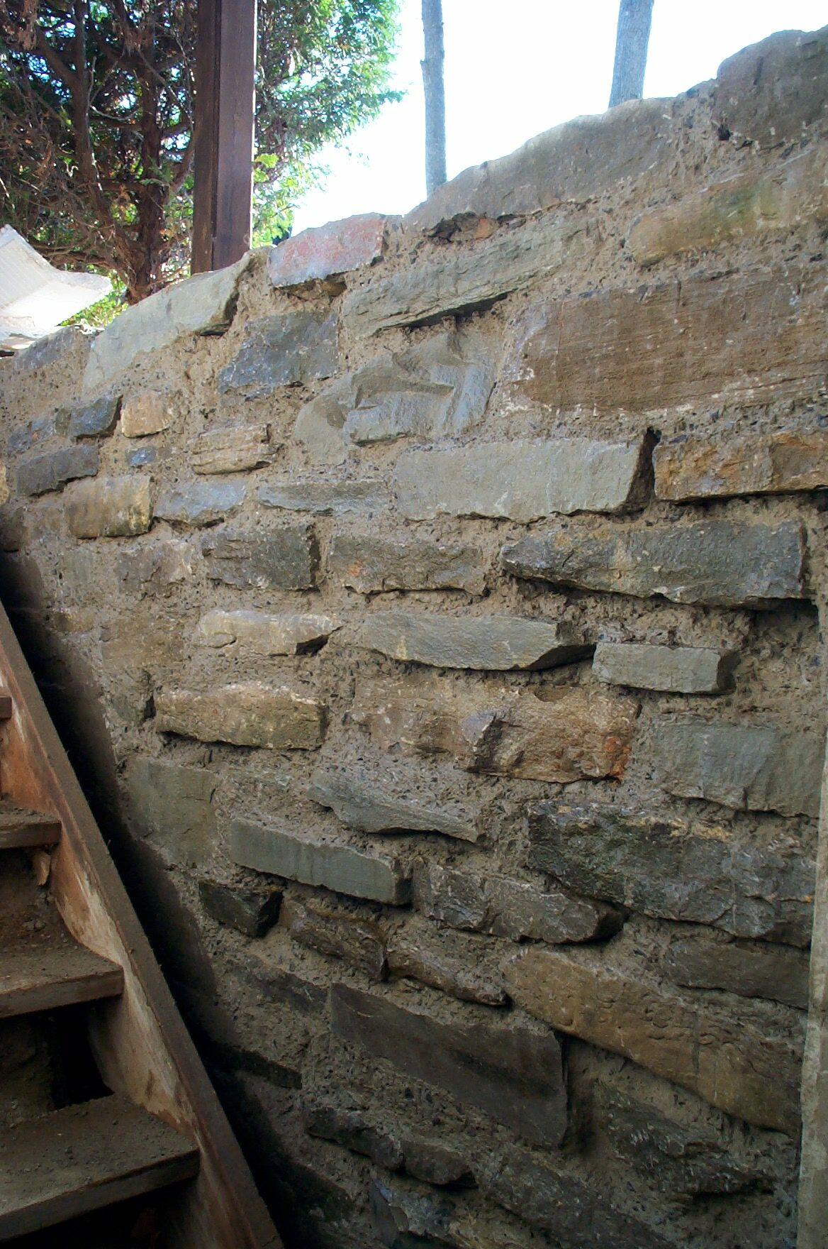 Slipform Stone Masonry : Slip form slipform masonry stone wall
