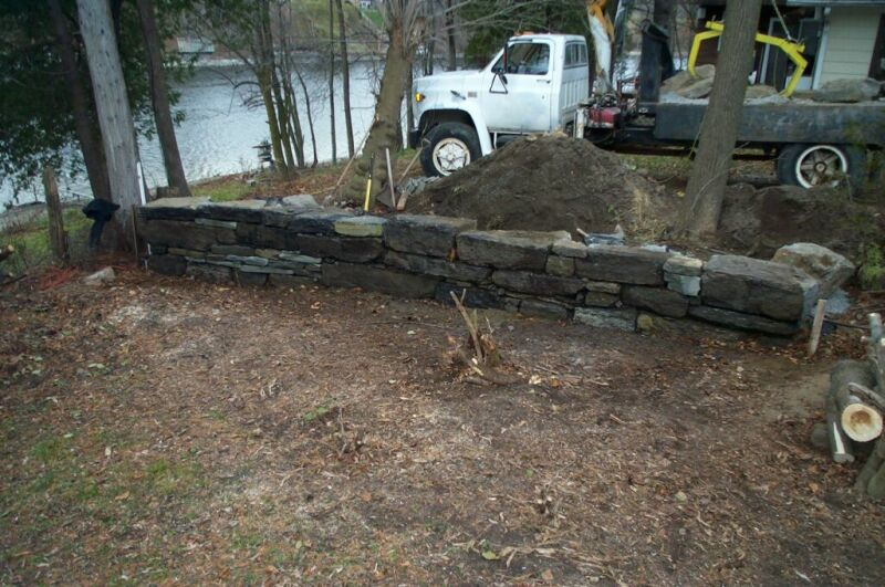 Some stone retaining wall pictures ground trades xchange for Soil xchange