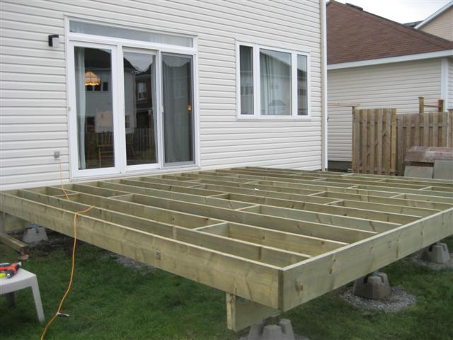 16x16 floating deck plans pictures to pin on pinterest 16x16 deck material list